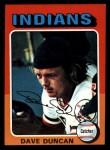 1975 Topps Mini #238   Dave Duncan Front Thumbnail