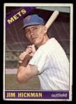 1966 Topps #402   Jim Hickman Front Thumbnail