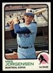 1973 Topps #281  Mike Jorgensen  Front Thumbnail