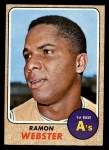 1968 Topps #164   Ramon Webster Front Thumbnail