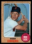 1968 Topps #537  Norm Siebern  Front Thumbnail