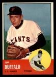 1963 Topps #567 COR Jim Duffalo  Front Thumbnail