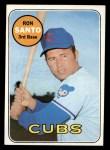 1969 Topps #570   Ron Santo Front Thumbnail