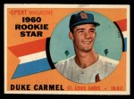 1960 Topps #120  Rookies  -  Duke Carmel Front Thumbnail