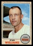1968 Topps #54  Stan Williams  Front Thumbnail