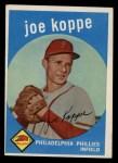 1959 Topps #517   Joe Koppe Front Thumbnail