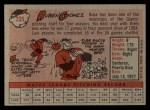 1958 Topps #335   Ruben Gomez Back Thumbnail