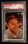 1953 Bowman #49  Eddie Stanky  Front Thumbnail