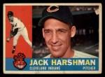 1960 Topps #112   Jack Harshman Front Thumbnail