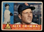 1960 Topps #168   Alex Grammas Front Thumbnail