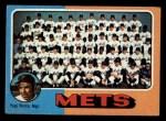1975 Topps Mini #421  Mets Team Checklist  -  Yogi Berra Front Thumbnail