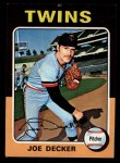1975 Topps Mini #102   Joe Decker Front Thumbnail
