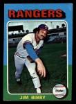 1975 Topps Mini #155   Jim Bibby Front Thumbnail