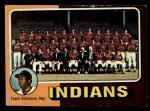 1975 Topps Mini #331  Indians Team Checklist  -  Frank Robinson Front Thumbnail