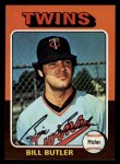 1975 Topps Mini #549  Bill Butler  Front Thumbnail