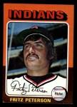 1975 Topps Mini #62   Fritz Peterson Front Thumbnail