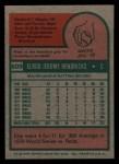 1975 Topps Mini #609   Elrod Hendricks Back Thumbnail