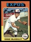 1975 Topps #318   Ernie McAnally Front Thumbnail