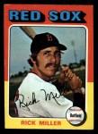1975 Topps Mini #103   Rick Miller Front Thumbnail