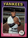 1975 Topps #426  George Medich  Front Thumbnail