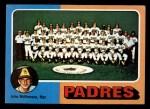 1975 Topps Mini #146  Padres Team Checklist  -  John McNamara Front Thumbnail