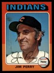 1975 Topps #263  Jim Perry  Front Thumbnail