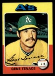1975 Topps #535  Gene Tenace  Front Thumbnail