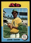 1975 Topps #69   Blue Moon Odom Front Thumbnail