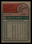 1975 Topps Mini #324  Ed Kranepool  Back Thumbnail