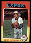1975 Topps Mini #405   John Montague Front Thumbnail