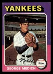 1975 Topps Mini #426   George Medich Front Thumbnail