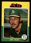 1975 Topps Mini #45  Joe Rudi  Front Thumbnail