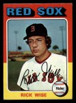 1975 Topps Mini #56   Rick Wise Front Thumbnail