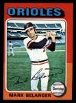 1975 Topps Mini #74   Mark Belanger Front Thumbnail