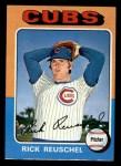 1975 Topps Mini #153   Rick Reuschel Front Thumbnail