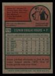 1975 Topps Mini #173  Steve Rogers  Back Thumbnail
