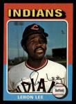 1975 Topps Mini #506  Leron Lee  Front Thumbnail