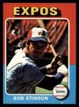 1975 Topps #471   Bob Stinson Front Thumbnail