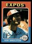 1975 Topps #125  Ken Singleton  Front Thumbnail