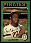 1975 Topps #555   Al Oliver Front Thumbnail