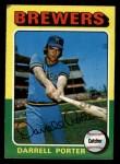1975 Topps #52   Darrell Porter Front Thumbnail