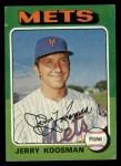 1975 Topps #19  Jerry Koosman  Front Thumbnail