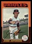 1975 Topps #539  Jesse Jefferson  Front Thumbnail