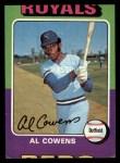 1975 Topps #437   Al Cowens Front Thumbnail