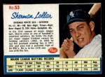 1962 Post Cereal #53   Sherman Lollar  Front Thumbnail