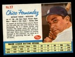 1962 Post Cereal #17   Chico Fernandez  Front Thumbnail