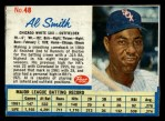 1962 Post Cereal #48   Al Smith  Front Thumbnail
