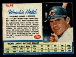 1962 Post Cereal #44   Woodie Held  Front Thumbnail