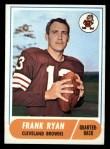 1968 Topps #215   Frank Ryan Front Thumbnail