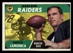 1968 #194  Daryle Lamonica  Front Thumbnail